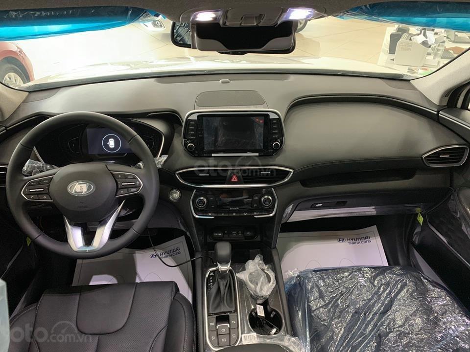 Hyundai Santa Fe mới 2019 - Chỉ 340tr nhận xe ngay - Giảm ngay tiền mặt và tặng vô số phụ kiện (5)