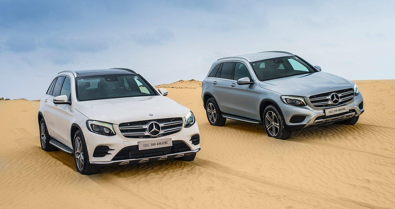 Mercedes-Benz GLC 300 có giá niêm yết hơn 2,2 tỷ đồng
