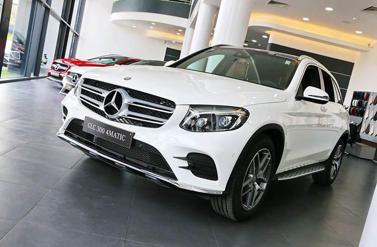 Mercedes-Benz GLC bản nâng cấp
