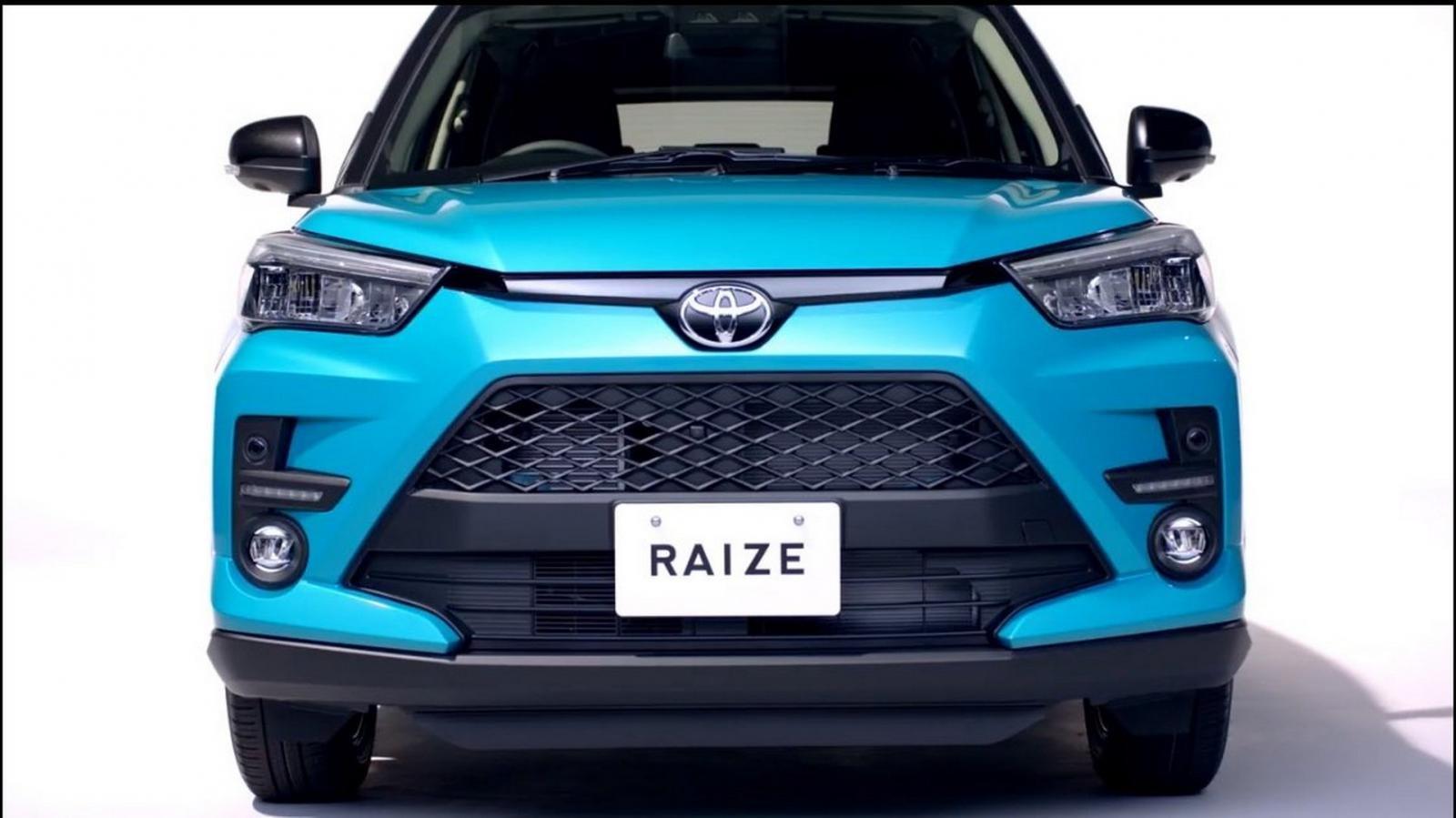 Toyota Raize chính thức ra mắt tại Nhật Bản vào đầu tuần tớir