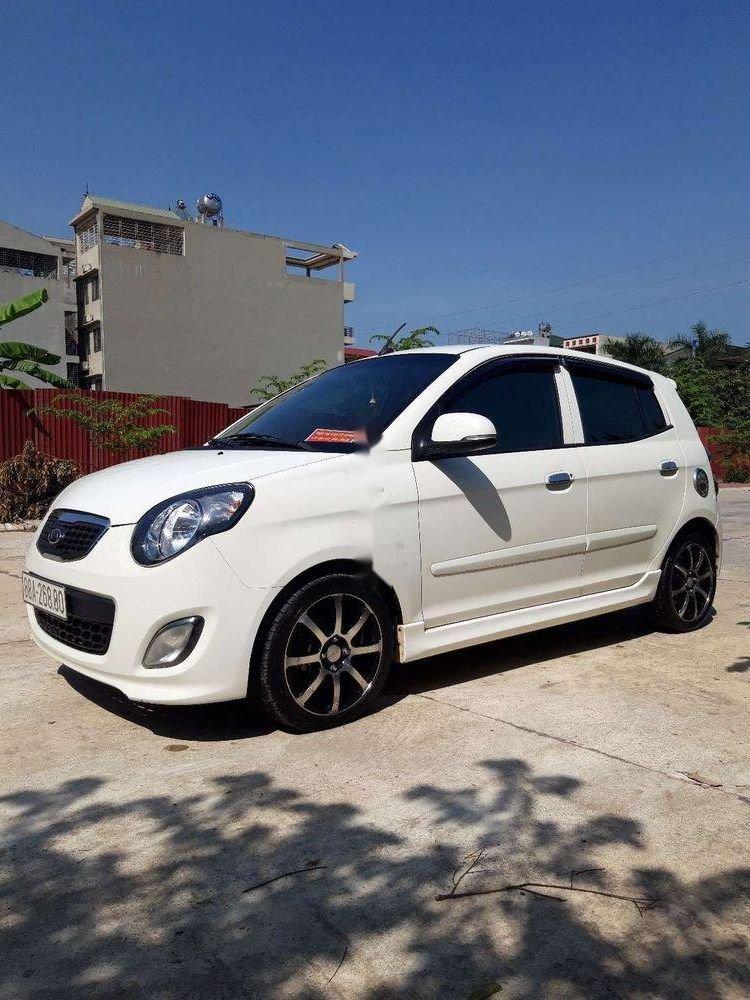 Cần bán lại xe Kia Morning năm sản xuất 2011, màu trắng chính chủ, giá 225tr, xe nguyên bản (1)