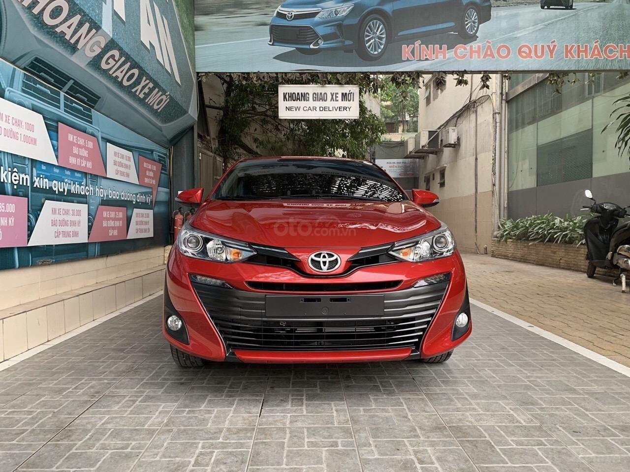 Bán Toyota Vios G 2019 giá tốt khuyến mại khủng. Vay trả góp lãi suất 0%. Lh 0973.160.519 (1)