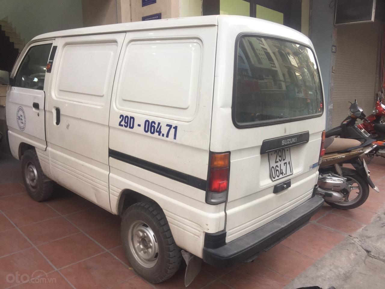 Bán Suzuki Super Carry Van sản xuất năm 2016, xe chở nhẹ, chỉ đi nội thành (2)