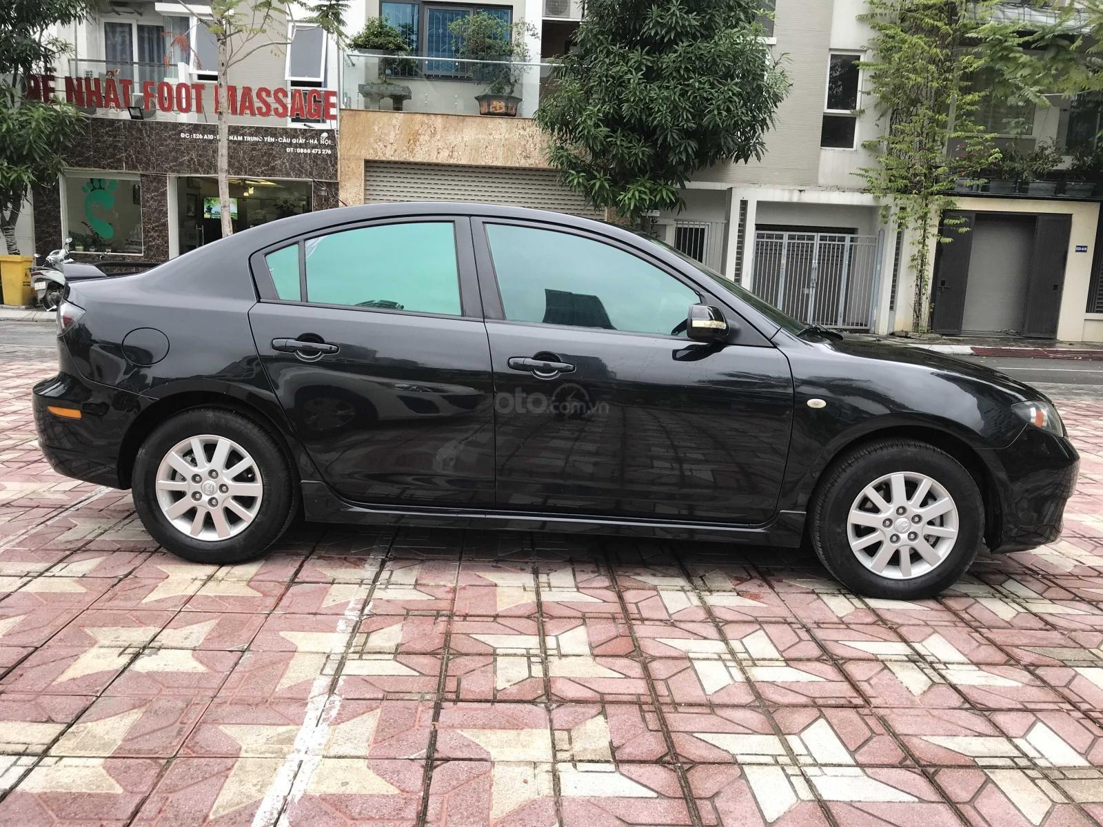 Bán xe Mazda 3 1.6AT 2009, màu đen, nhập khẩu nguyên chiếc (4)