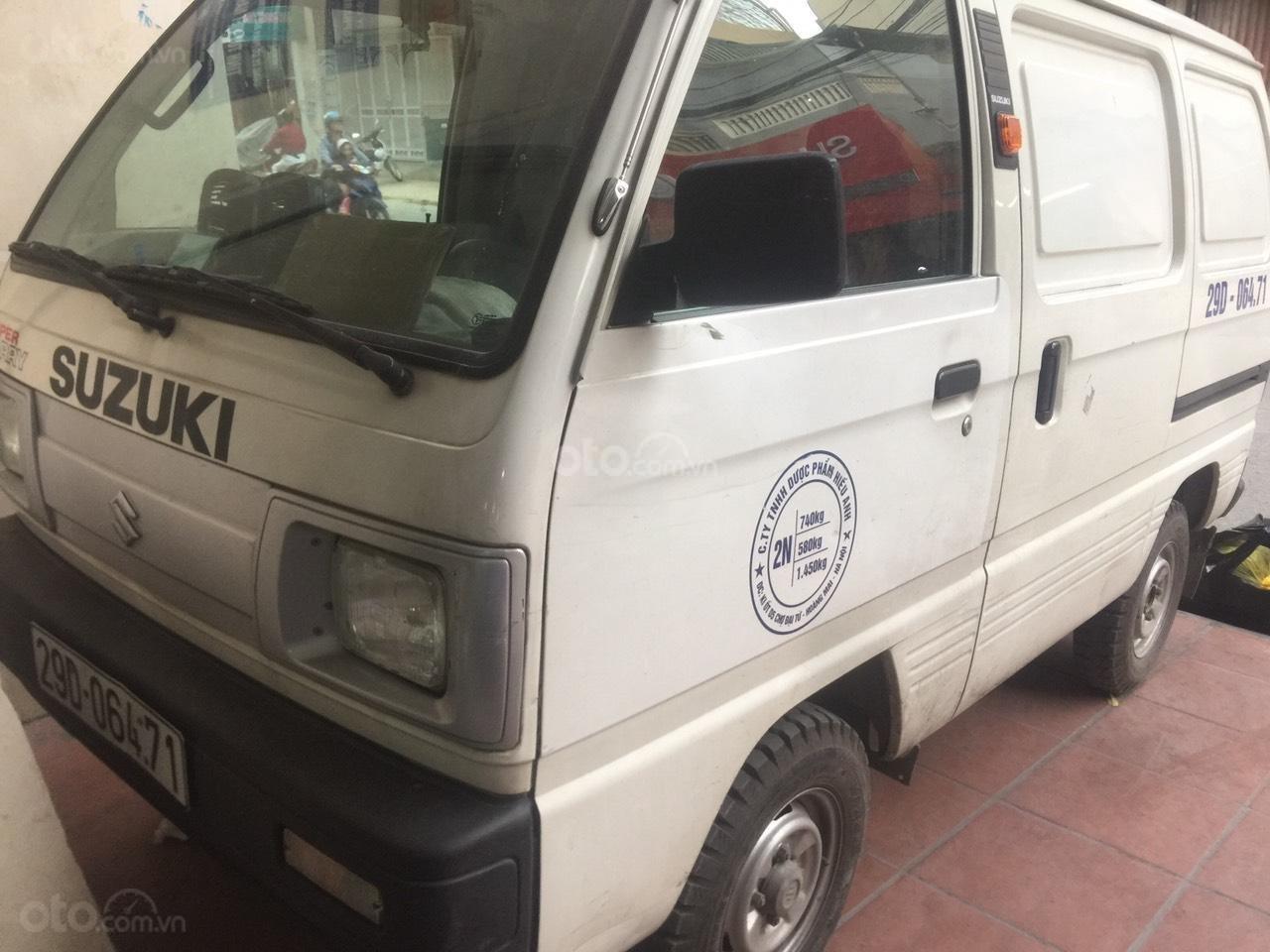 Bán Suzuki Super Carry Van sản xuất năm 2014, xe chở nhẹ, chỉ đi nội thành (3)