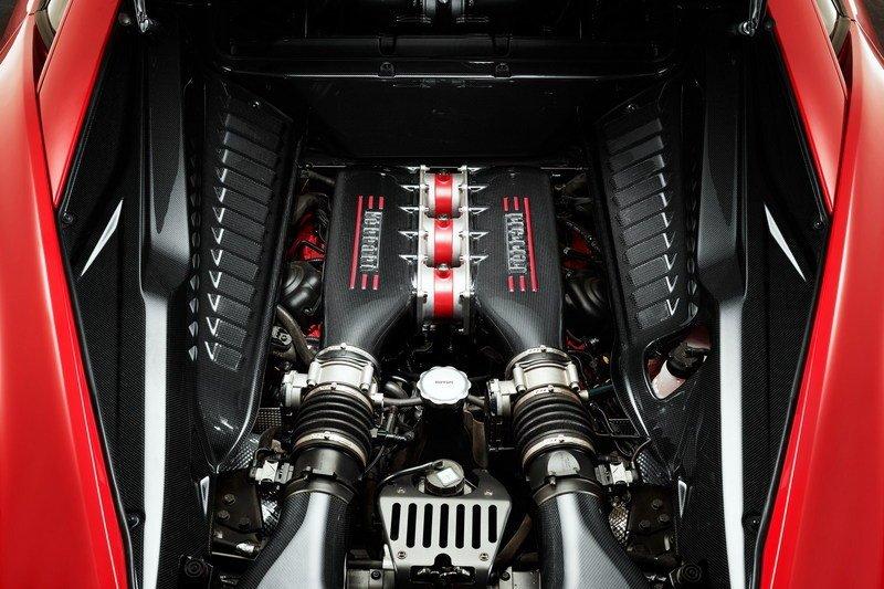 Ferrari V8 F136 4,5L – Ferrari 458 Speciale.