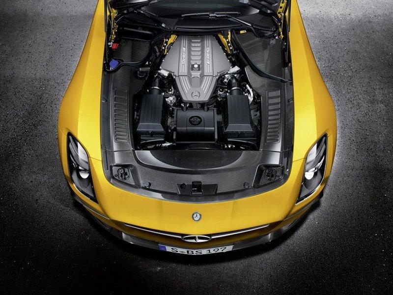 Mercedes-AMG V8 M159 6,2L – Mercedes-Benz AMG SLS Black Series.