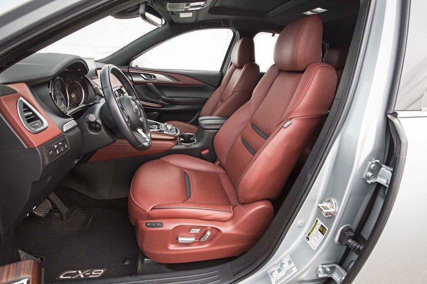 Ghế đôi giúp tăng sự thoải mái trên Mazda CX-9 2020.