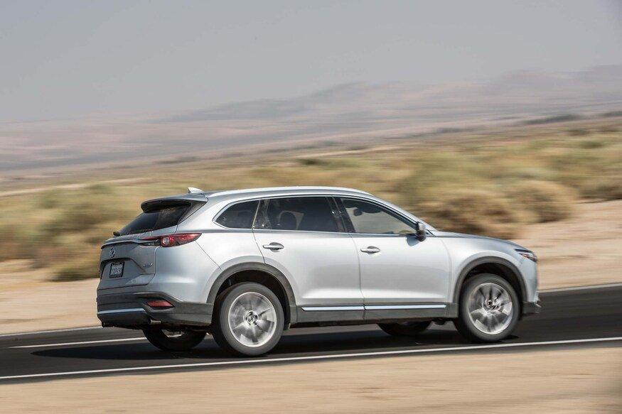 Trợ lực khi đi off road của Mazda CX-9 2020.