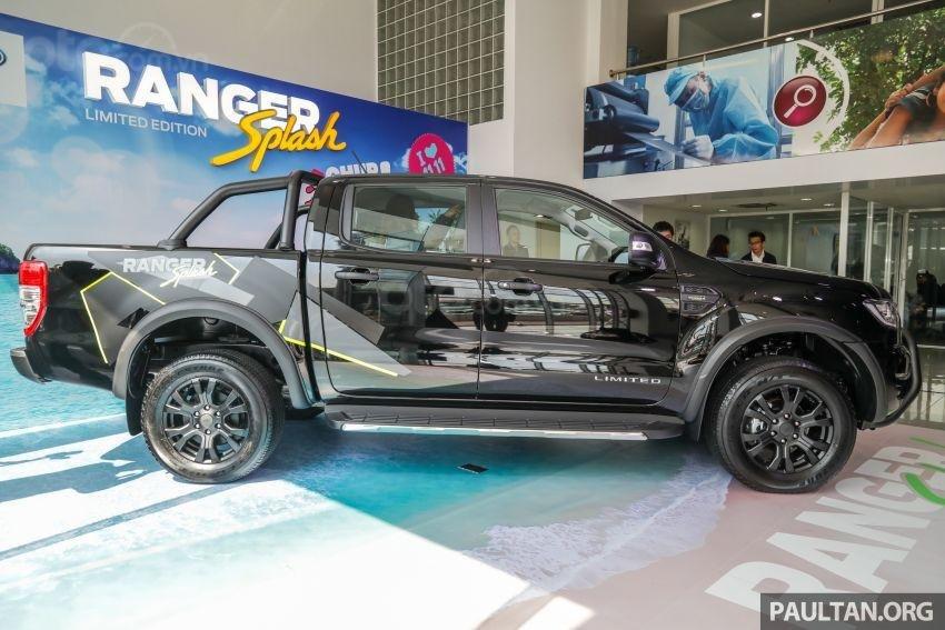 Ford Ranger Splash mua hàng trên mạng