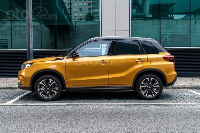 Suzuki Vitara 2020 tạo hình táo bạo hơn