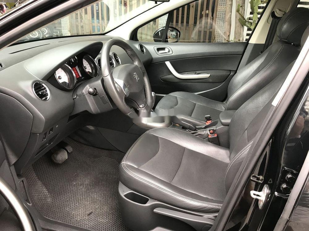 Bán xe Peugeot 408 2014, màu đen xe gia đình, giá 460tr (5)