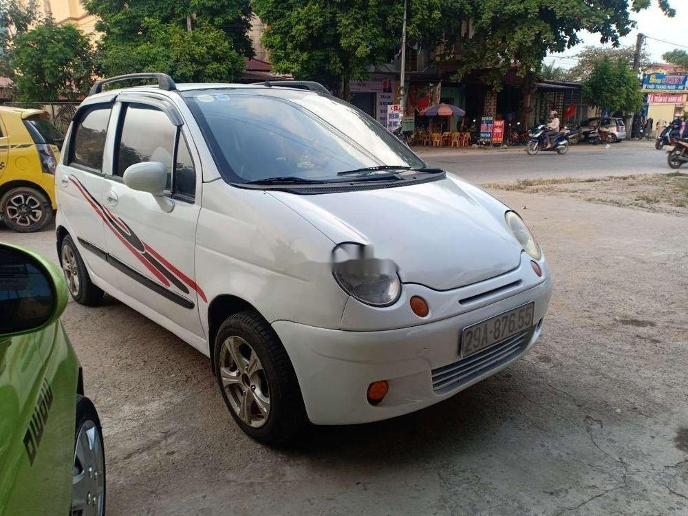 Bán ô tô Daewoo Matiz năm 2003, màu trắng (4)