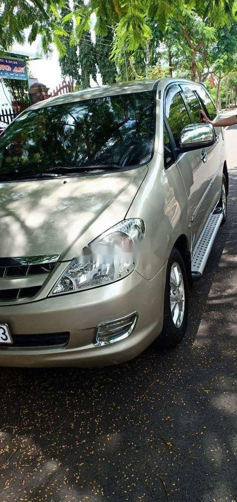 Bán Toyota Innova đời 2006, màu bạc, xe nhập, giá chỉ 285 triệu (1)