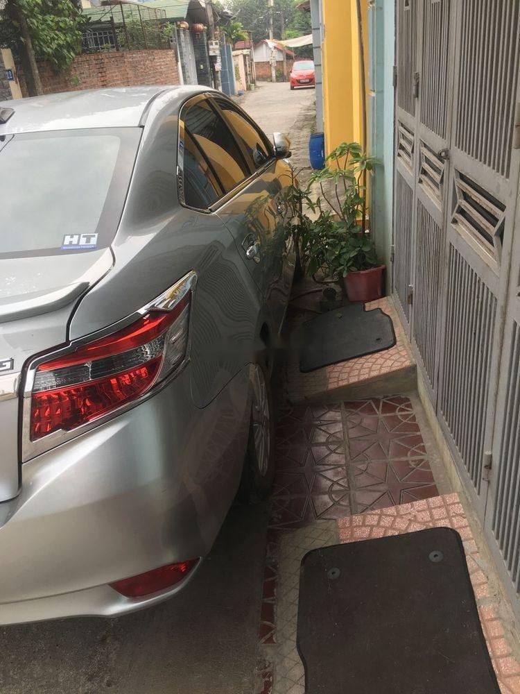 Bán xe Toyota Vios G năm sản xuất 2017, màu bạc, giá tốt (5)