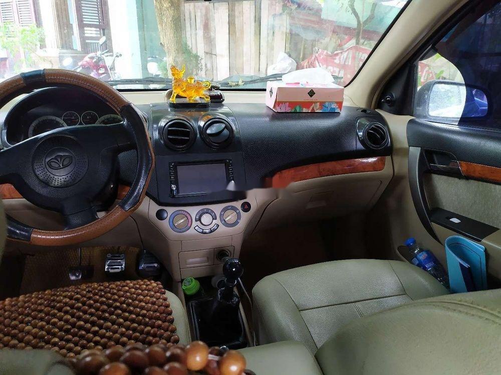 Cần bán lại xe Daewoo Gentra đời 2007, màu đen chính chủ (9)