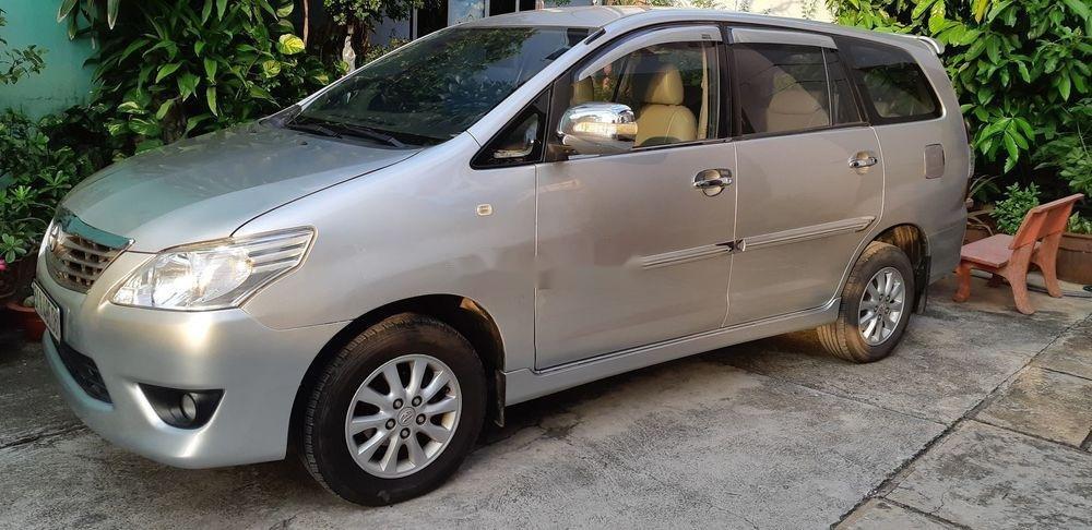 Bán Toyota Innova đời 2013, màu bạc, bstp (5)