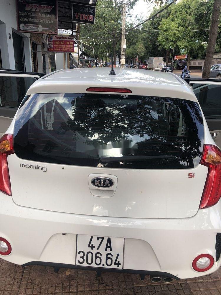 Bán ô tô Kia Morning đời 2016, màu trắng xe gia đình (6)