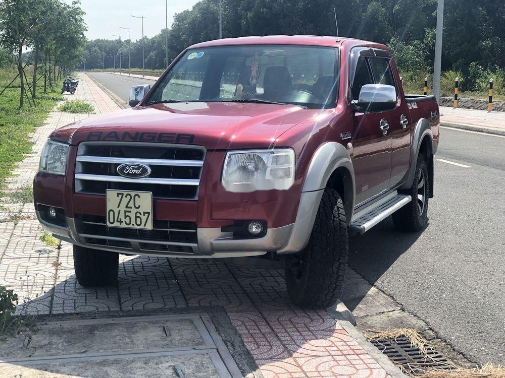 Bán Ford Ranger năm sản xuất 2007, màu đỏ, xe nhập, giá tốt (1)