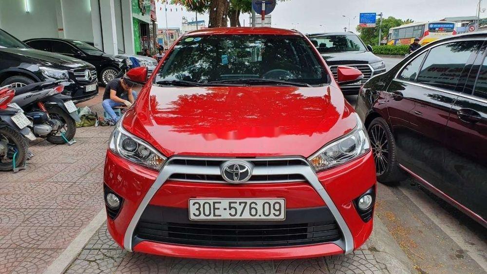 Bán Toyota Yaris G 1.5 sản xuất năm 2016, màu đỏ, xe nhập (2)