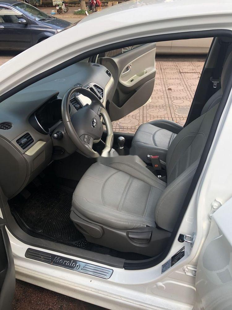 Bán ô tô Kia Morning đời 2016, màu trắng xe gia đình (3)