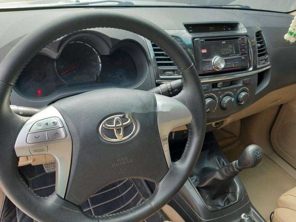 Cần bán xe Toyota Fortuner năm sản xuất 2015, màu bạc, nhập khẩu nguyên chiếc chính hãng (3)