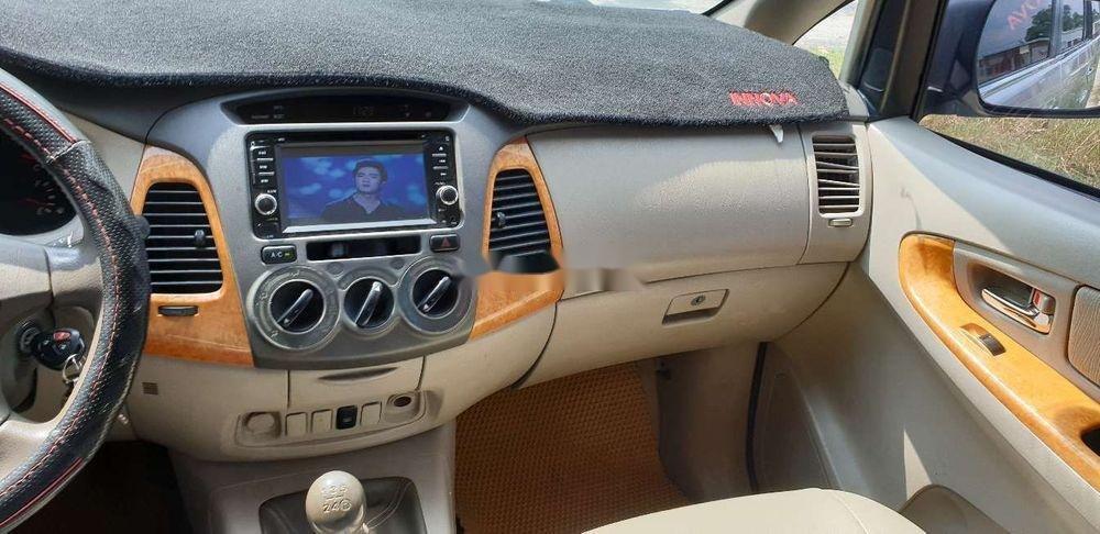 Bán xe Toyota Innova đời 2010, màu bạc chính chủ, giá chỉ 345 triệu, xe nguyên bản (10)
