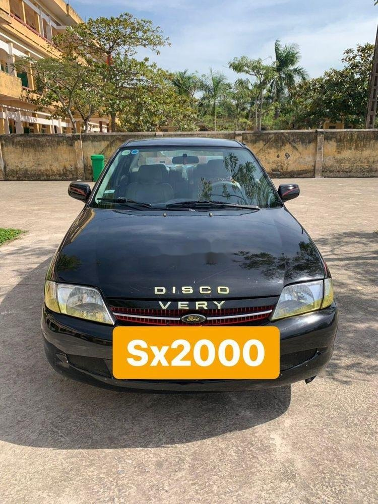Bán xe Ford Laser 2000, màu đen chính chủ, giá rẻ (1)
