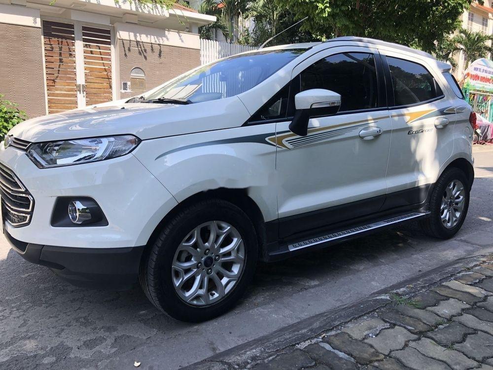 Bán Ford EcoSport Titanium 2017, màu trắng số tự động (1)