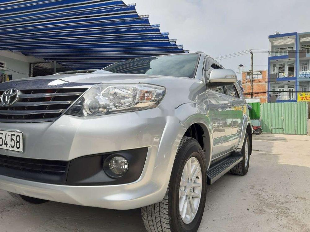 Cần bán xe Toyota Fortuner năm sản xuất 2015, màu bạc, nhập khẩu nguyên chiếc chính hãng (1)