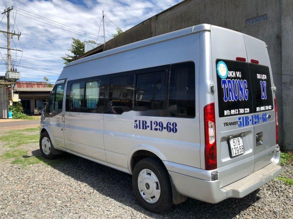 Bán Ford Transit năm sản xuất 2014, màu bạc còn mới, giá tốt (1)