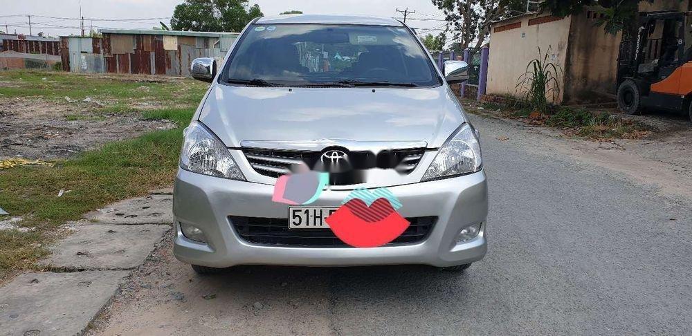 Bán xe Toyota Innova đời 2010, màu bạc chính chủ, giá chỉ 345 triệu, xe nguyên bản (1)