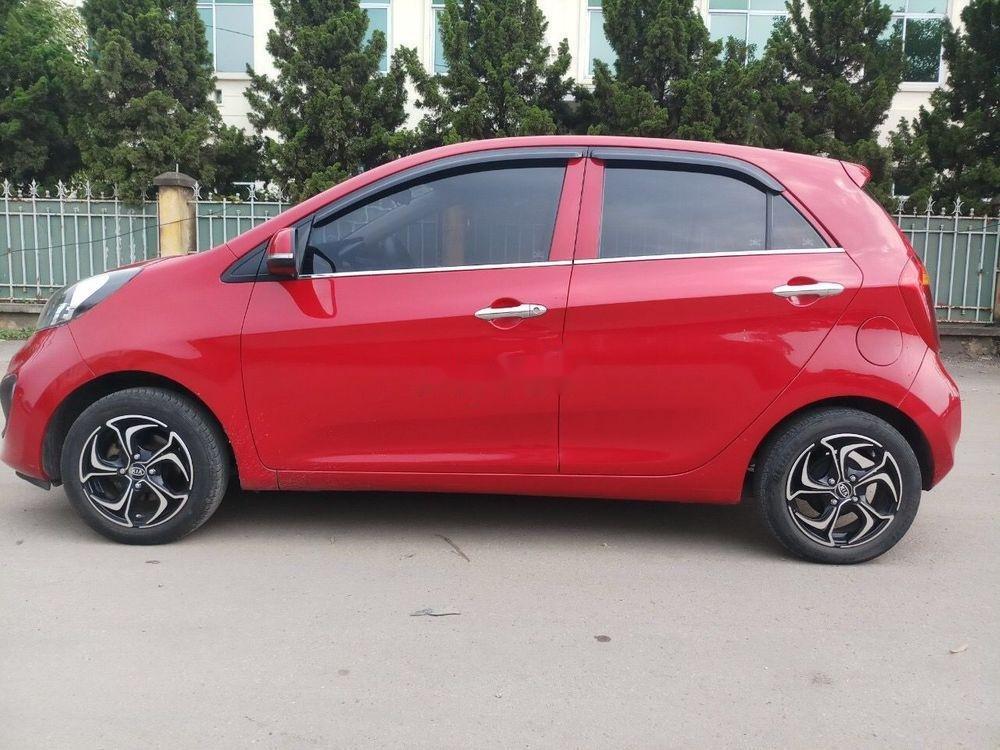 Cần bán gấp Kia Morning sản xuất 2014, màu đỏ như mới, giá tốt, xe nguyên bản (7)