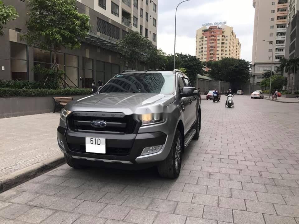 Bán xe Ford Ranger năm 2018, màu xám, nhập khẩu, xe gia đình, 769 triệu (2)