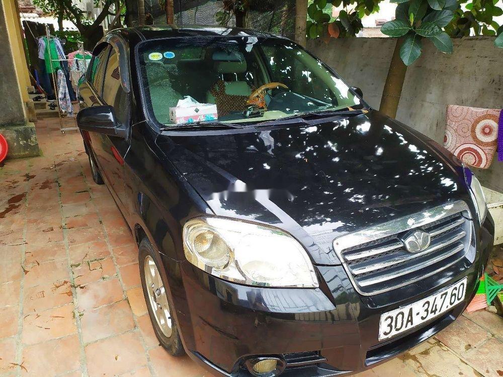 Cần bán lại xe Daewoo Gentra đời 2007, màu đen chính chủ (6)