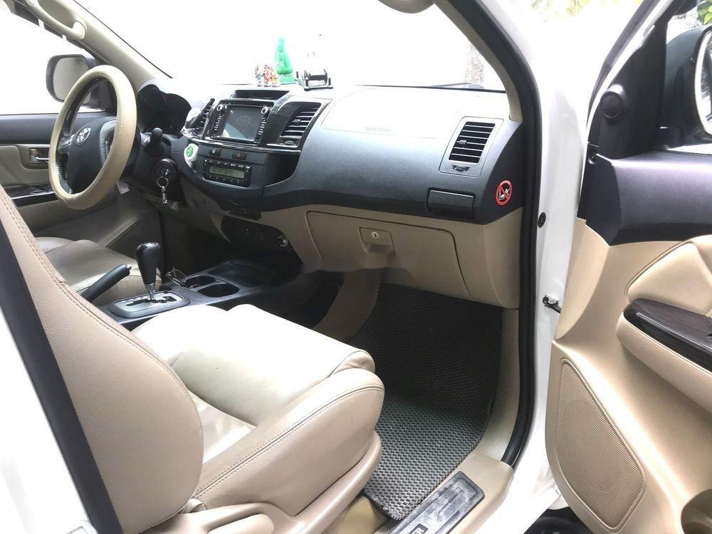 Cần bán lại xe Toyota Fortuner AT 2015, màu trắng  (4)