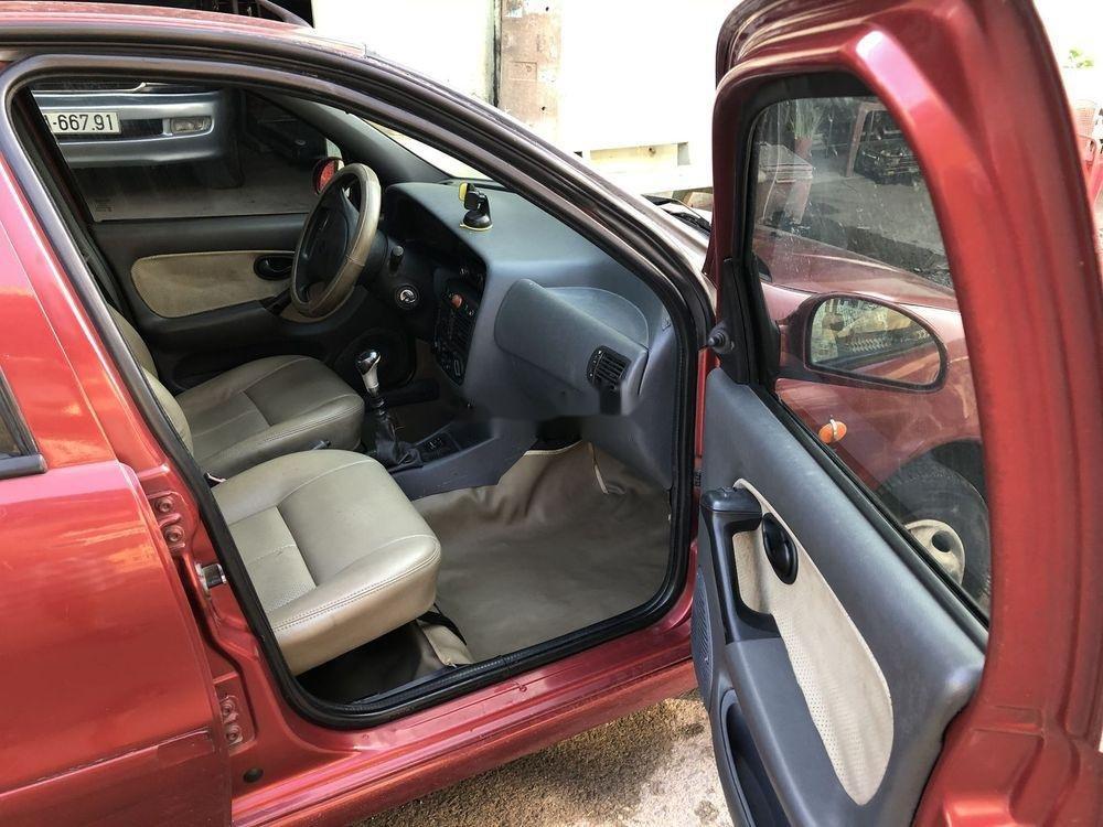Bán Fiat Siena đời 2002, màu đỏ chính chủ, xe nguyên bản đẹp (6)