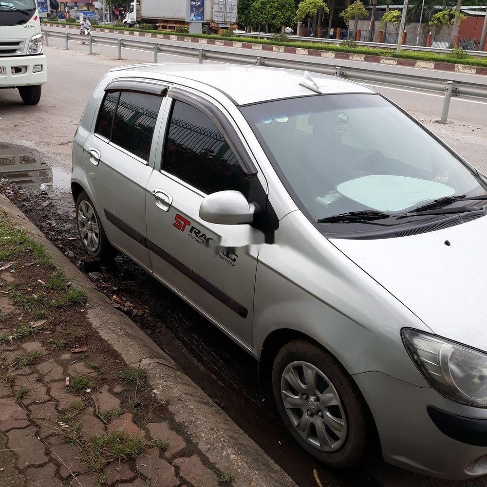 Cần bán xe Hyundai Getz đời 2009, màu bạc, nhập khẩu nguyên chiếc (1)