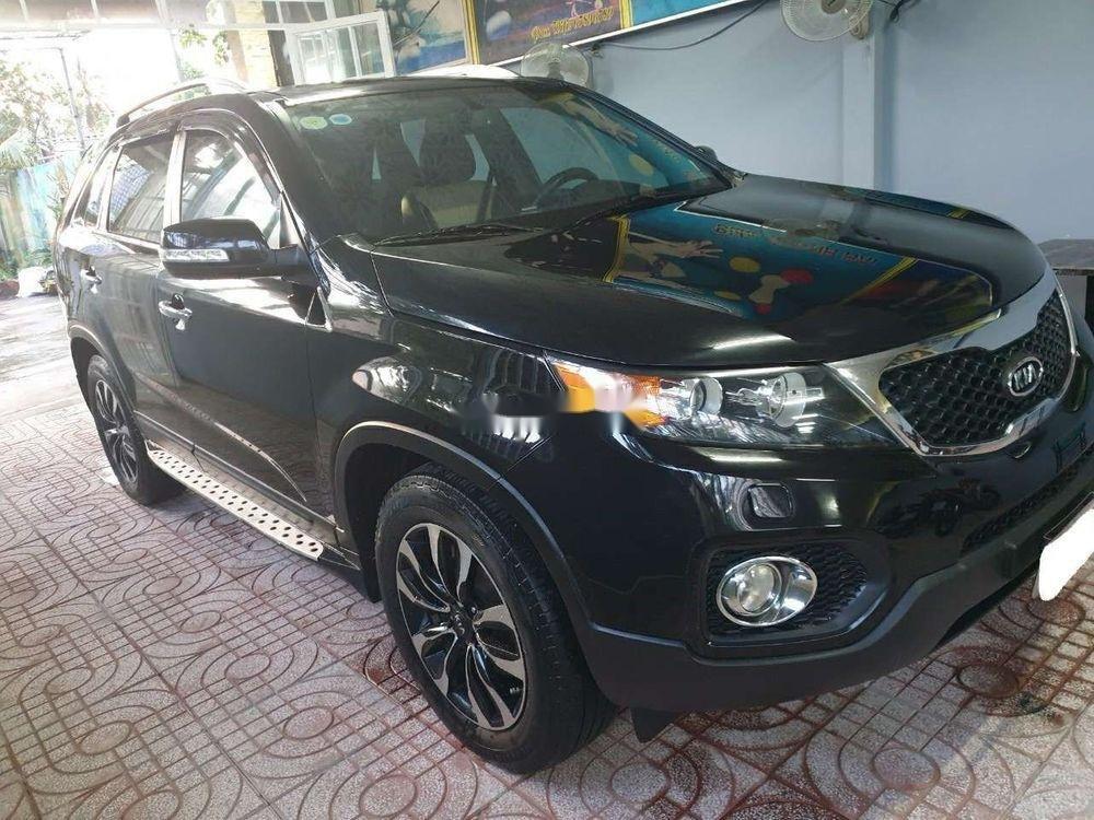 Bán Kia Sorento AT sản xuất 2012, màu đen xe gia đình, giá chỉ 498 triệu (3)