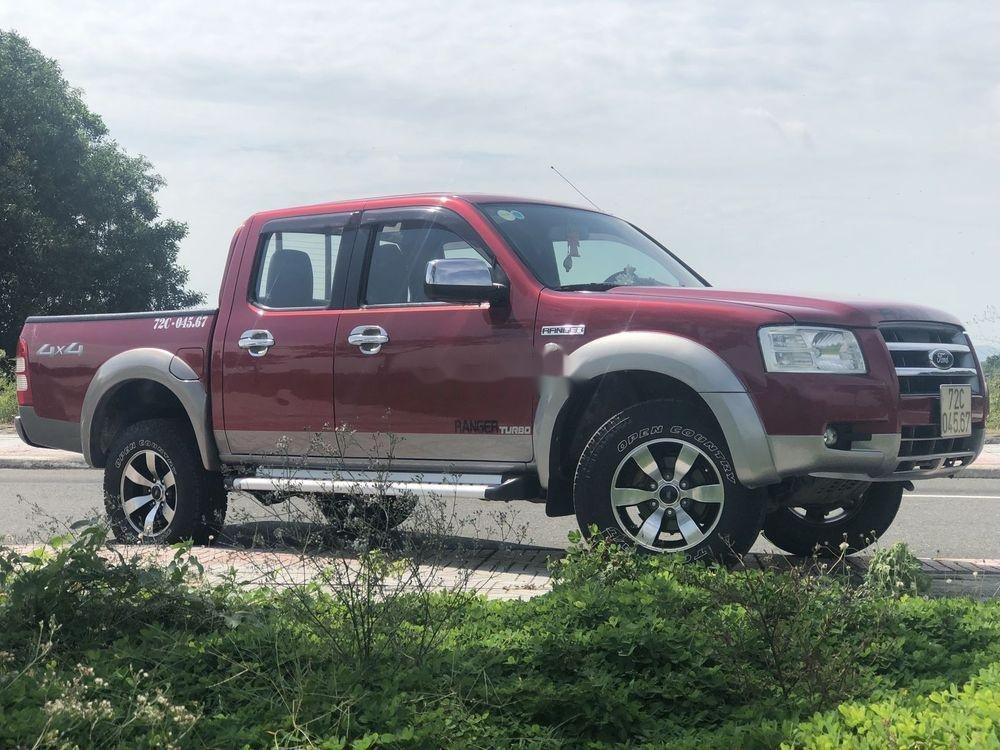 Bán Ford Ranger năm sản xuất 2007, màu đỏ, xe nhập, giá tốt (2)