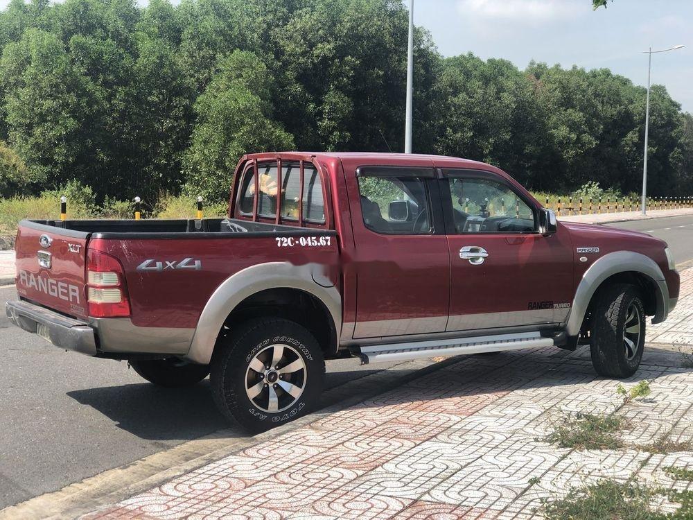 Bán Ford Ranger năm sản xuất 2007, màu đỏ, xe nhập, giá tốt (3)