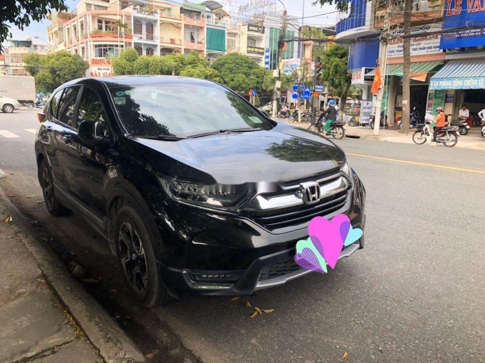 Bán Honda CR V 2018, màu đen, nhập khẩu nguyên chiếc (1)