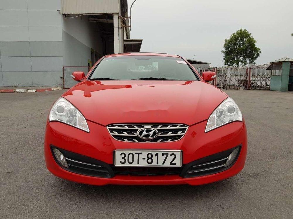 Bán ô tô Hyundai Genesis đời 2009, màu đỏ, xe nhập chính hãng (1)