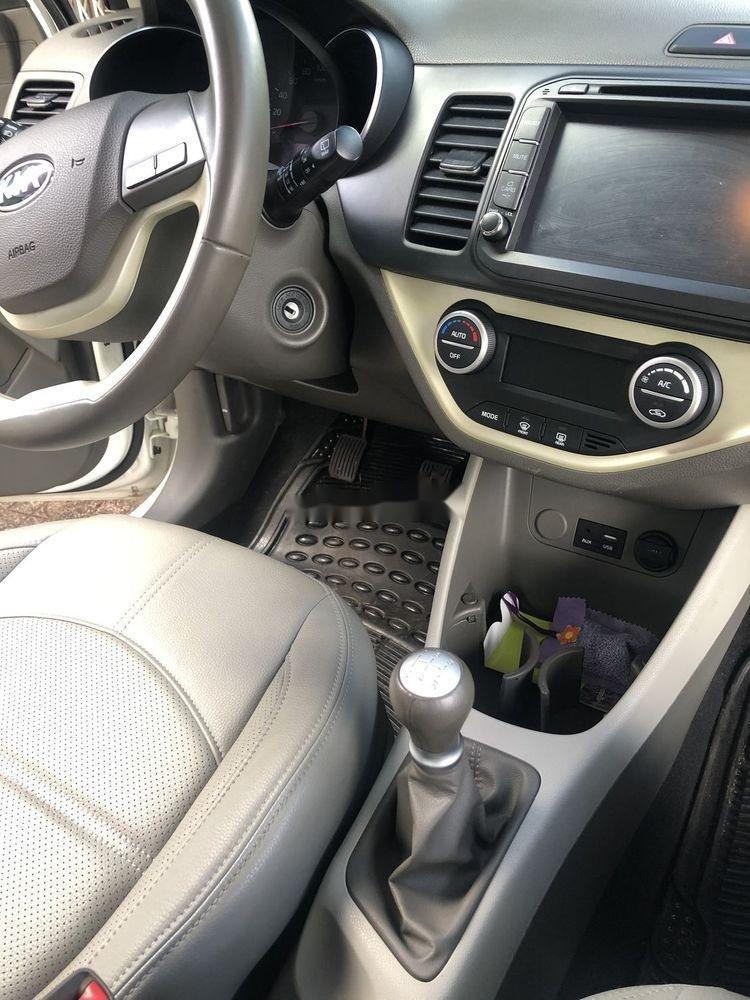 Bán ô tô Kia Morning đời 2016, màu trắng xe gia đình (7)