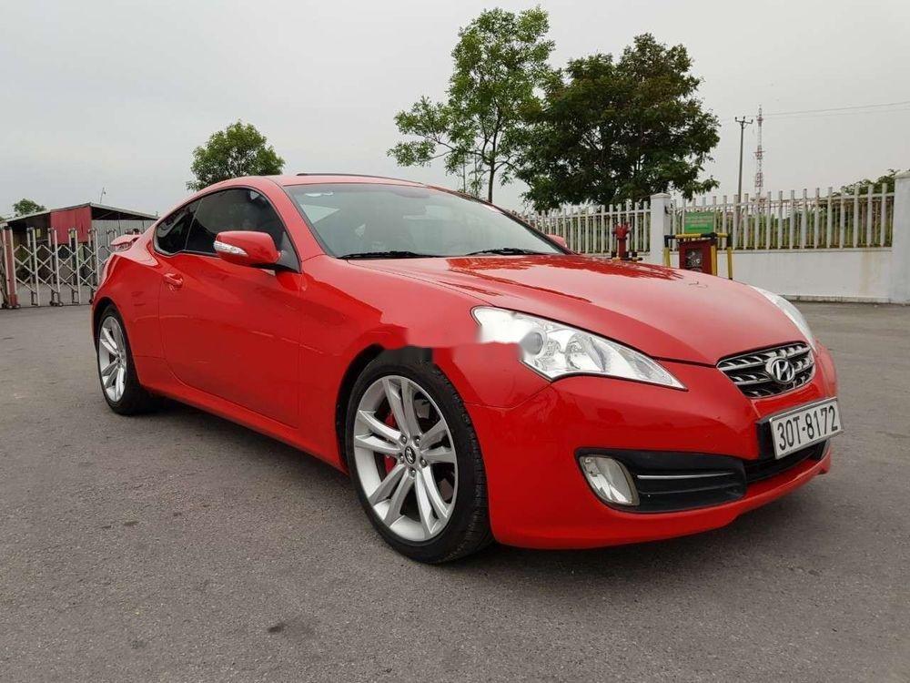 Bán ô tô Hyundai Genesis đời 2009, màu đỏ, xe nhập chính hãng (2)