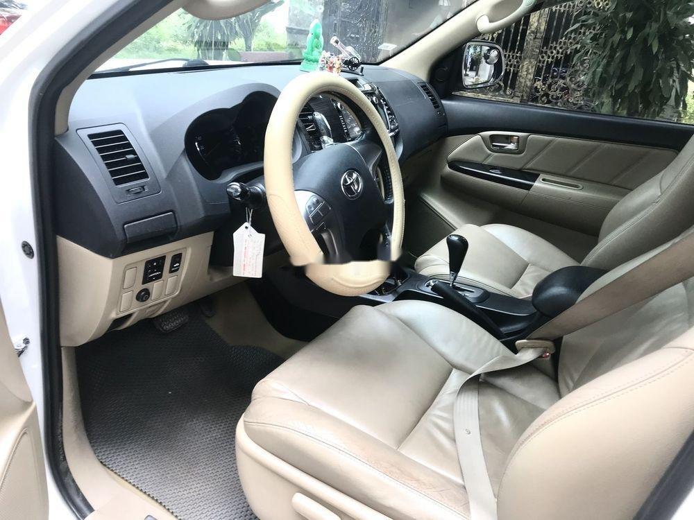 Cần bán lại xe Toyota Fortuner AT 2015, màu trắng  (3)