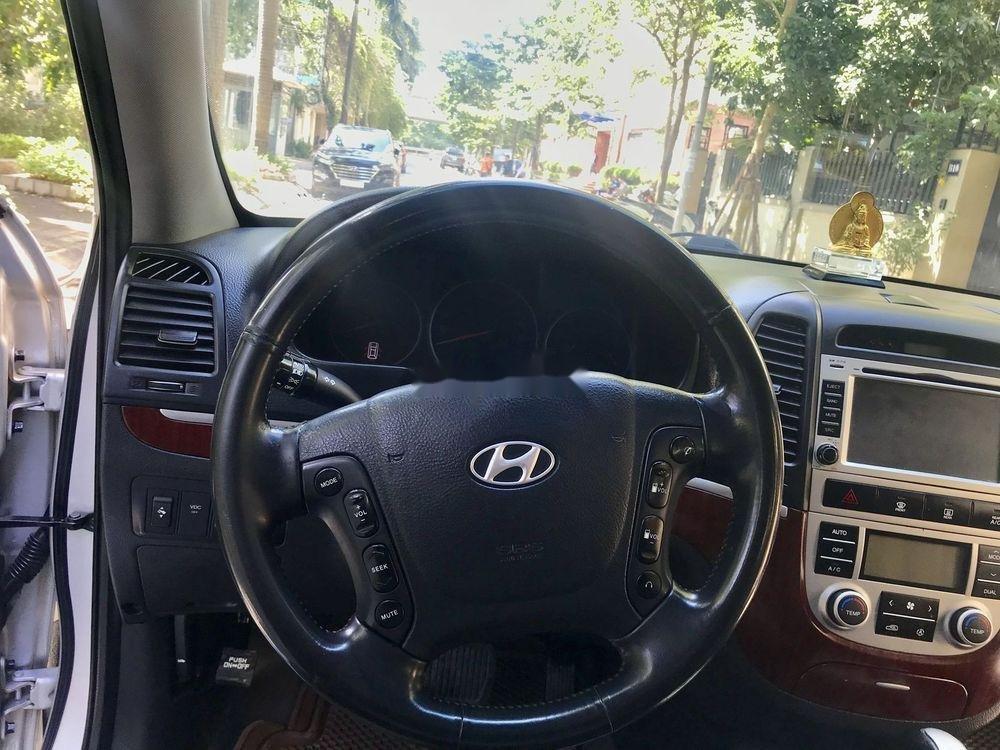 Cần bán Hyundai Santa Fe đời 2007, màu bạc, nhập khẩu chính hãng (10)