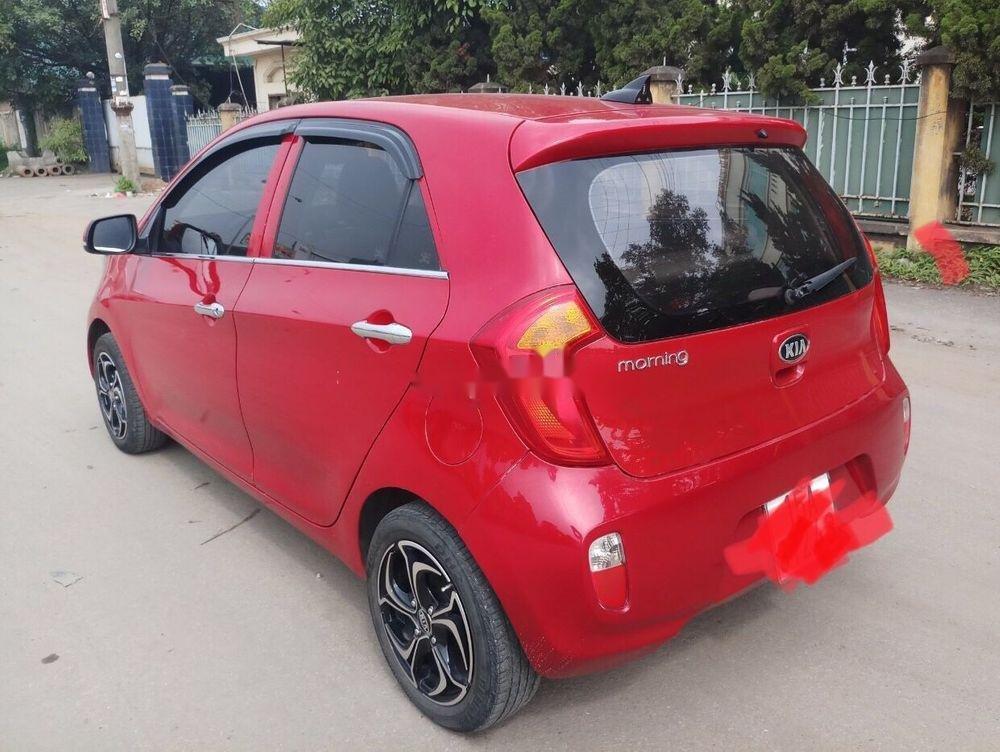 Cần bán gấp Kia Morning sản xuất 2014, màu đỏ như mới, giá tốt, xe nguyên bản (5)