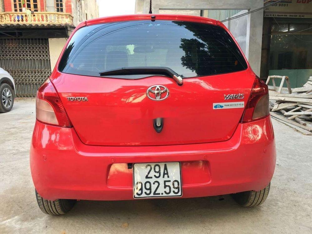 Bán Toyota Yaris 1.0 MT 2007, màu đỏ, nhập khẩu nguyên chiếc (3)