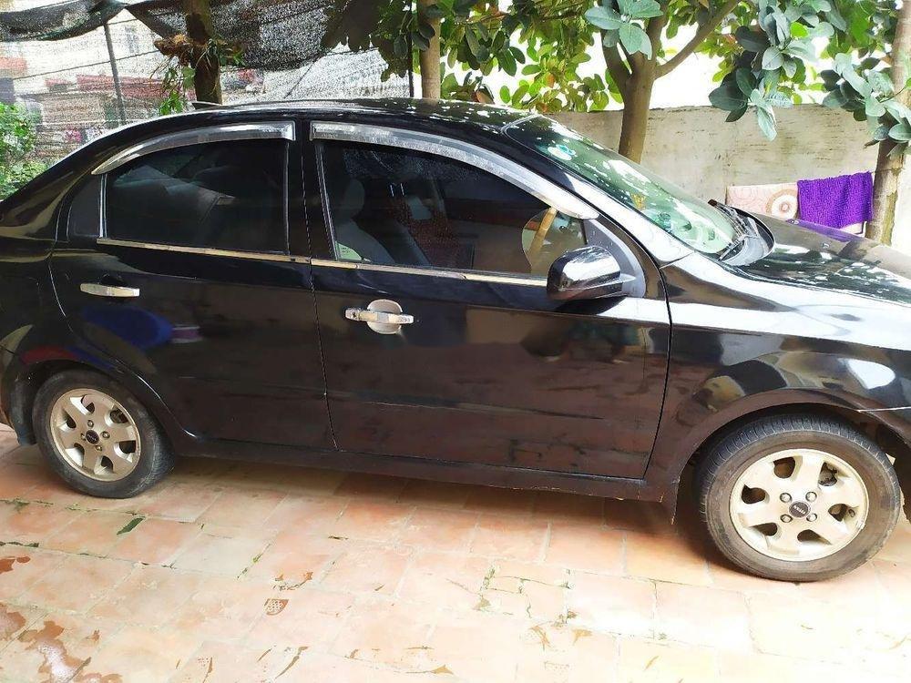 Cần bán lại xe Daewoo Gentra đời 2007, màu đen chính chủ (1)